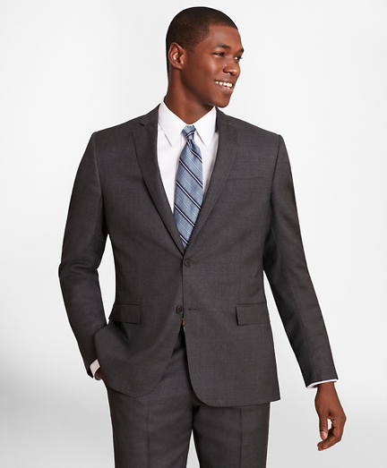 BrooksGate™ Regent-Fit Wool Twill Suit Jacket