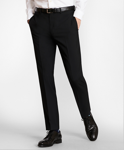 BrooksGate™ Milano-Fit Wool Suit Pants
