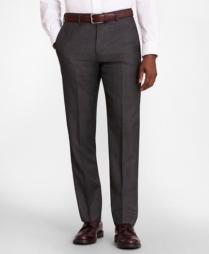 BrooksGate™ Regent-Fit Wool Twill Suit Pants