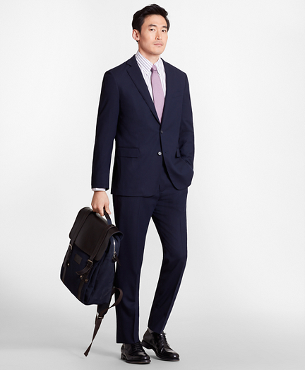 Regent Fit BrooksCool® Navy Suit