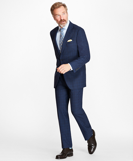 Madison Fit BrooksCool® Check Suit