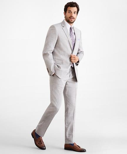Regent Fit Linen Blend 1818 Suit
