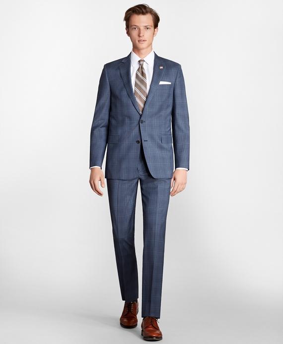 Regent Fit Check 1818 Suit Navy