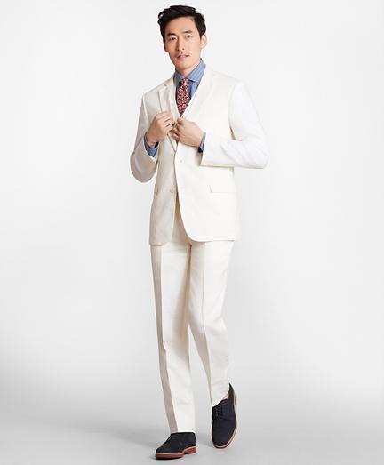 Regent Fit Three-Piece Irish Linen Suit