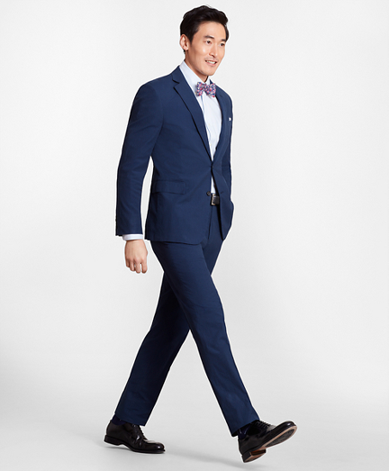 Regent Fit Seersucker Suit