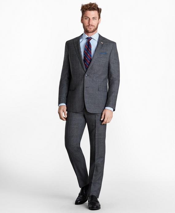 Regent Fit Glen Plaid 1818 Suit Grey