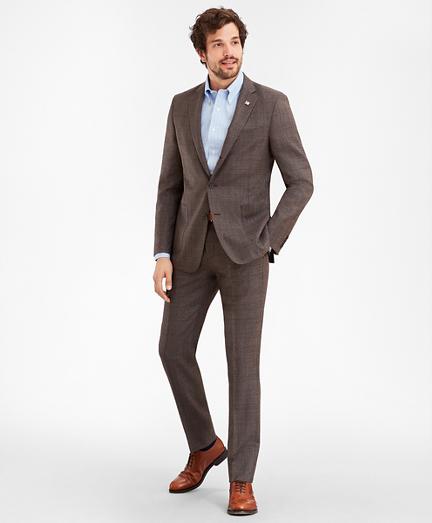 Regent Fit Three-Button Multi-Plaid 1818 Suit