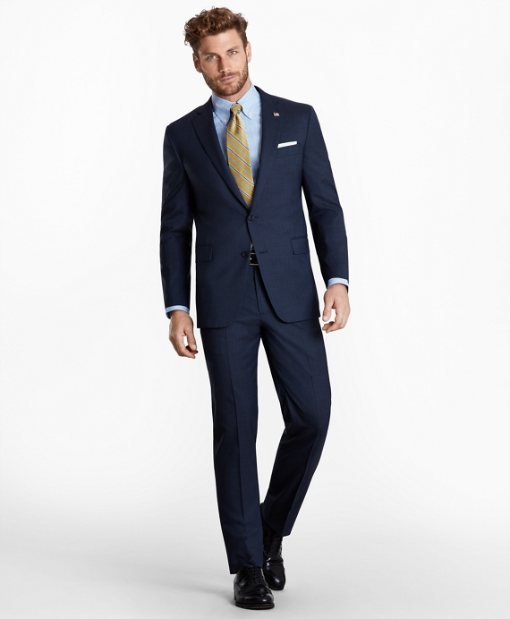 Regent Fit Two-Button 1818 Suit Navy