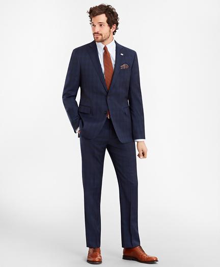Regent Fit Glen Plaid 1818 Suit