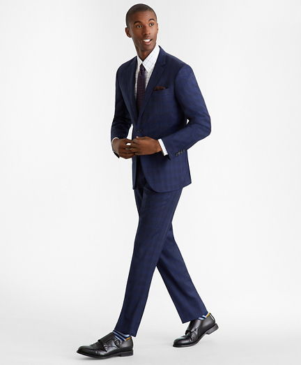 Milano Fit Glen Plaid 1818 Suit