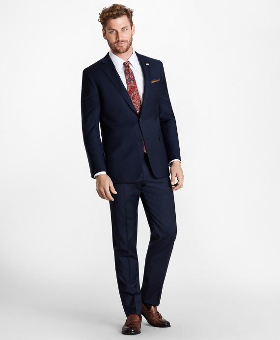 Regent Fit Pinstripe 1818 Suit Navy