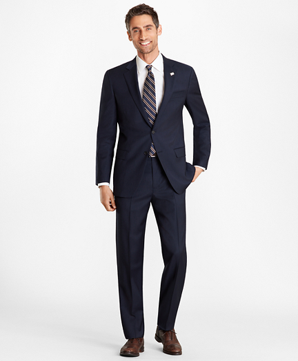 Madison Fit Pinstripe 1818 Suit