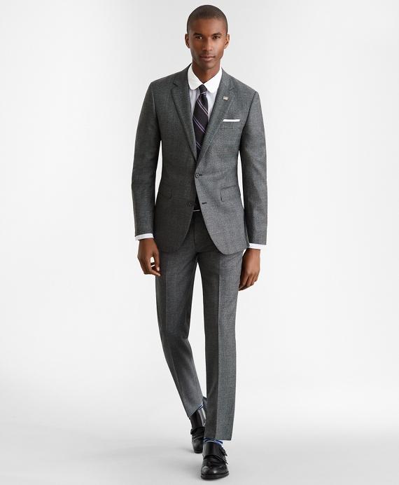 Milano Fit Glen Plaid 1818 Suit Grey