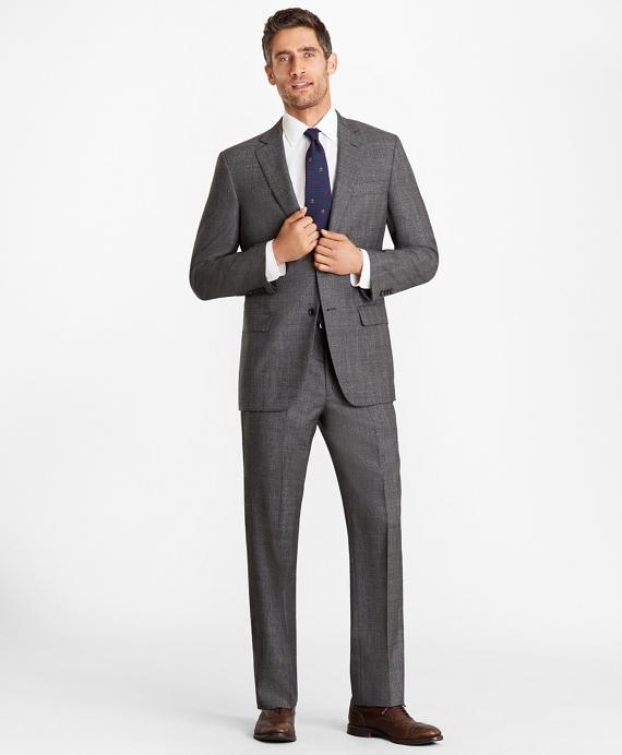 Madison Fit Glen Plaid 1818 Suit Grey