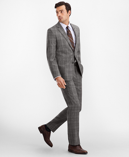 Regent Fit Glen Plaid 1818 Suit