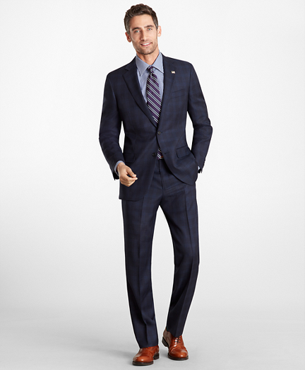 Madison Fit Plaid 1818 Suit