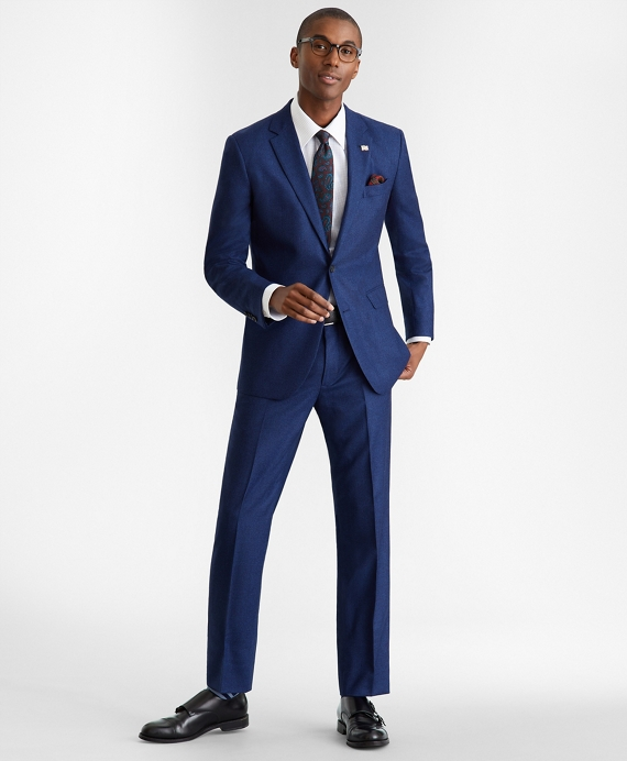 Milano Fit Two-Button 1818 Suit Navy