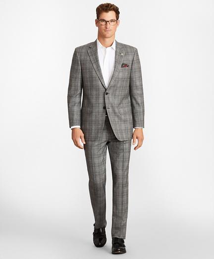 Madison Fit Glen Plaid 1818 Suit