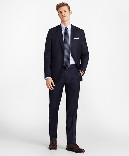 Golden Fleece® Three-Button Flannel Suit