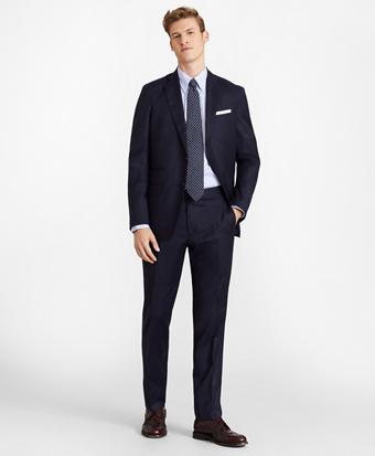 Golden Fleece® Three-Button Flannel Suit