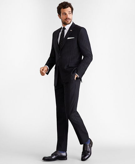 Regent Fit Two-Button Stripe 1818 Suit