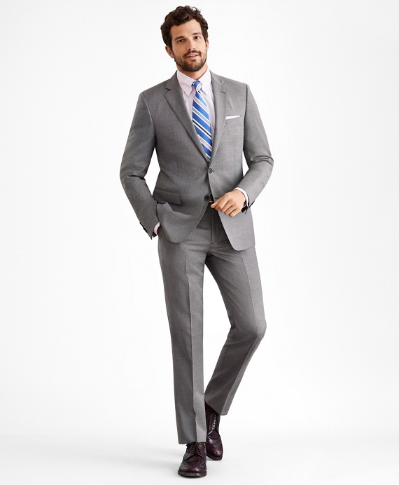 Regent Fit Two-Button Grey 1818 Suit Grey