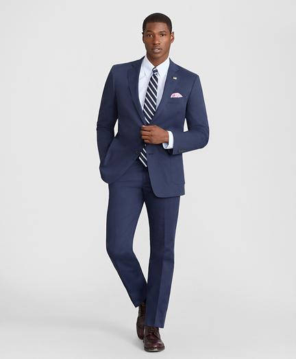 Brooks Brothers Regent Fit Cotton Stretch Suit