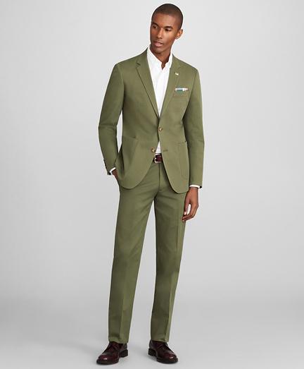 Milano Fit Cotton Stretch Suit