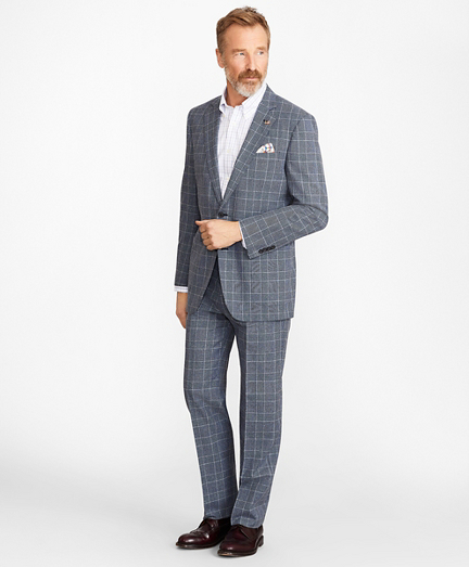 Madison Fit Combo Check 1818 Suit
