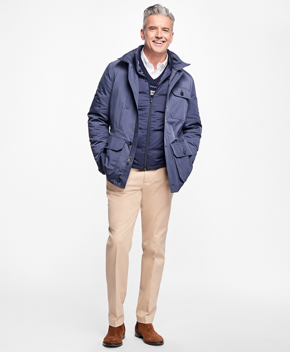 Three-in-One Field Jacket Navy
