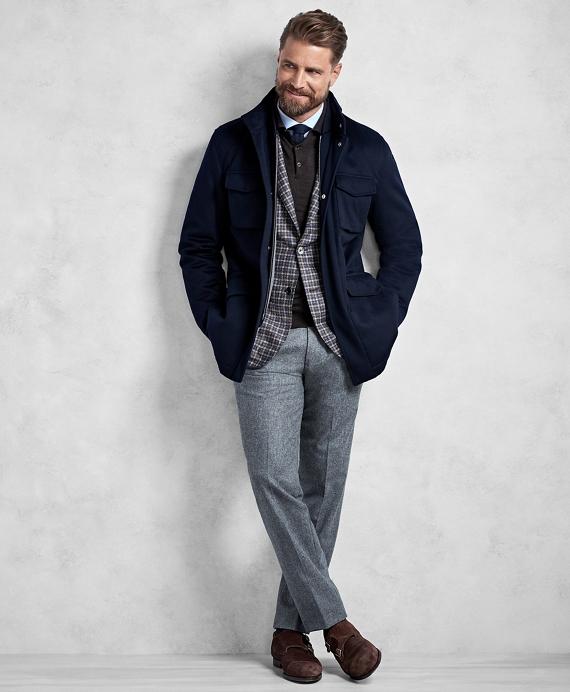 Golden Fleece® BrooksTech™ Wool Traveler Jacket Navy