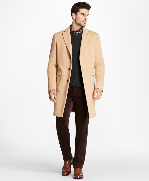 Camel Hair Polo Coat Camel