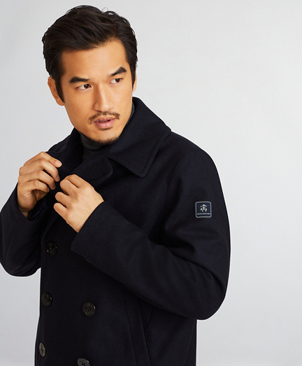 Iconic Wool Pea Coat