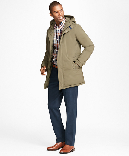 Down-Filled Water Repellent Parka