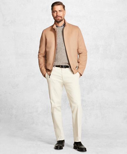 Golden Fleece® Wool and Camel Hair Bomber