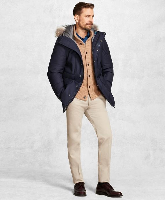 Golden Fleece® BrooksStorm® Snorkel Coat Navy