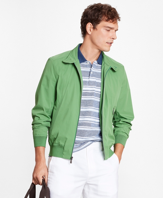 Ultralight Stretch Bomber Jacket Bright Green