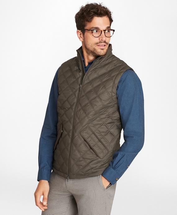 Quilted Vest Grey
