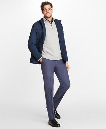 Cotton and Nylon Stretch Jacket