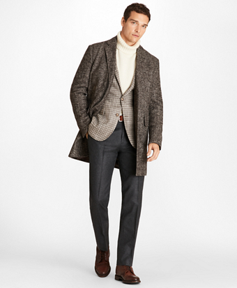 Herringbone Twill Supersoft Topcoat