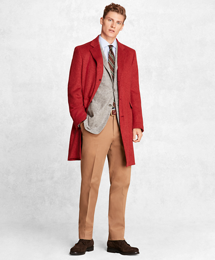 Golden Fleece® Camel Hair Topcoat