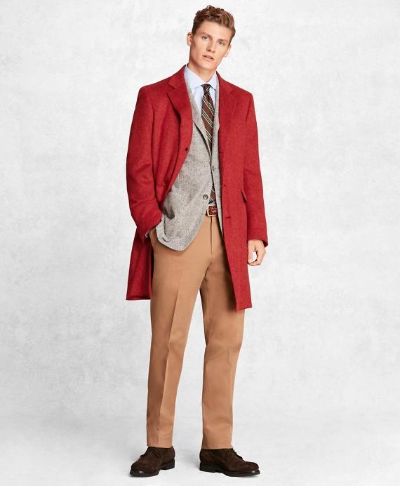 Golden Fleece® Camel Hair Topcoat RED