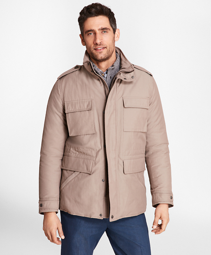 Water-Repellent Tech Twill Field Jacket