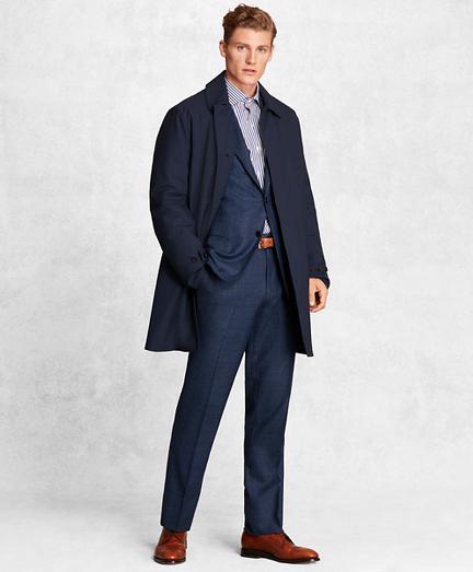 Golden Fleece® BrooksTech™ Wool-Blend Trench Coat