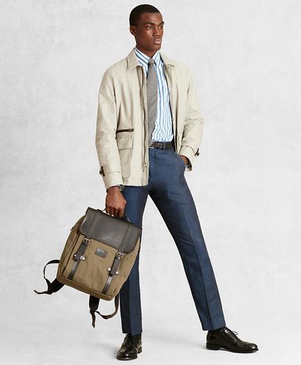 017ee968b7 Golden Fleece® Linen-Blend Twill Jacket