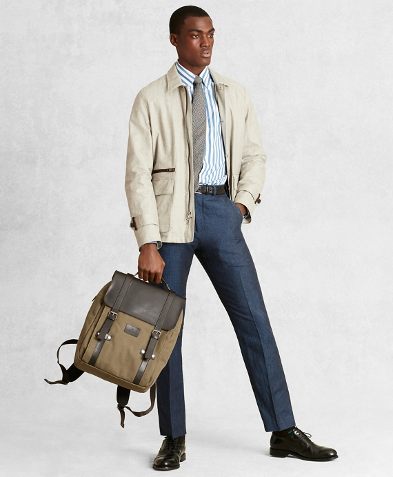 Golden Fleece® Linen-Blend Twill Jacket Beige