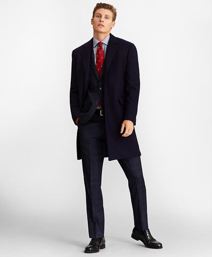 Single-Breasted Wool Topcoat