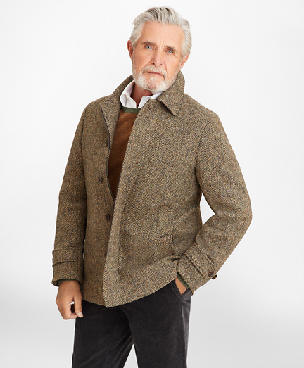 Harris Tweed Walking Coat