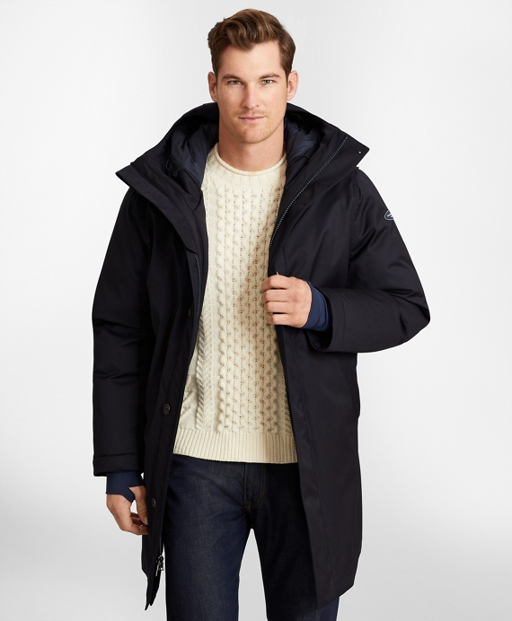 Polar Series™ Waterproof Wool Parka Navy