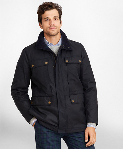 Waxed Cotton Field Jacket